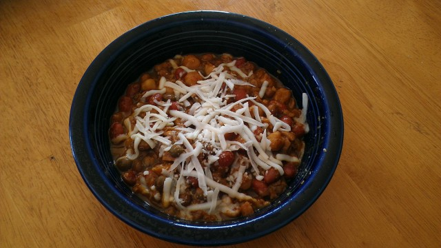 Crock Pot Vegetarian Chili