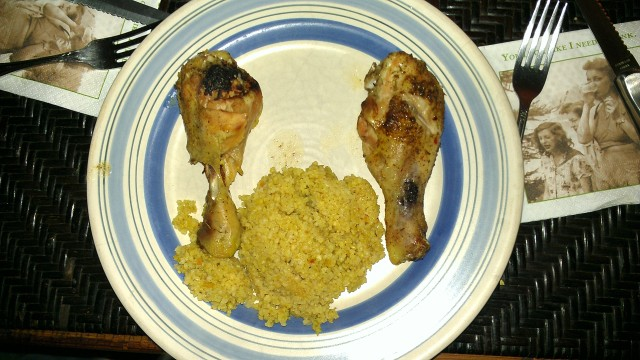 Bahamian Baked Chicken