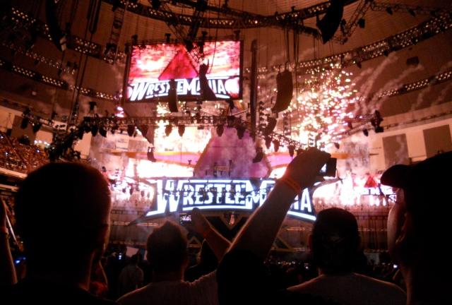 Wrestlemania!