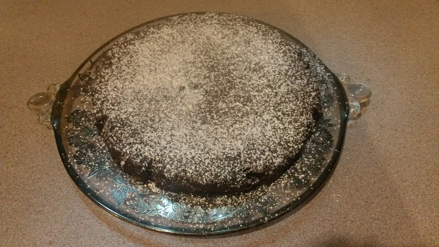 Freshly sprinkled with powdered sugar